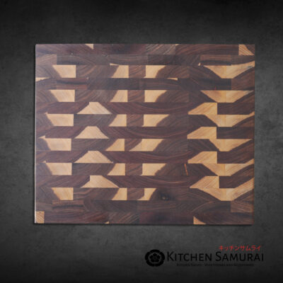 Endgrain Cutting Board – Kiaat