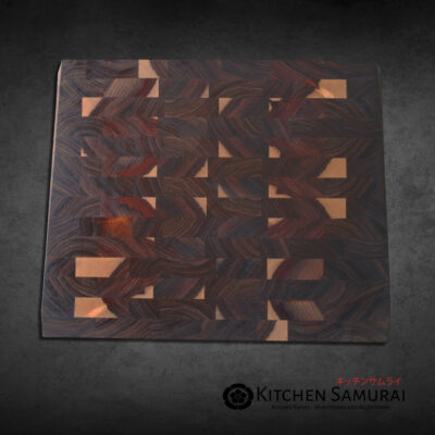 End Grain Cutting Board – Kiaat