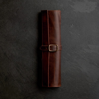 Arrow Leather Knife Roll