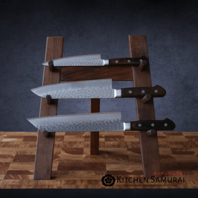 Walnut Japanese Knife Stand