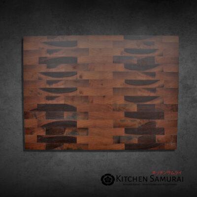 Slant Wood – Walnut End Grain Cutting Board