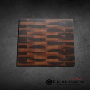 Slant Wood – Walnut End Grain Cutting Board