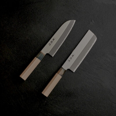 RYUTOKU – Santoku and Nakiri Combo