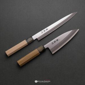 RYUTOKU – Deba 150mm and Yanagiba 210mm SET