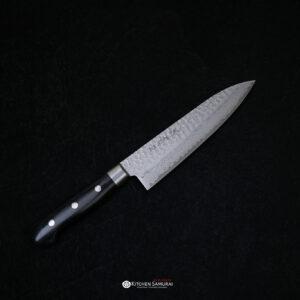 Sakai Kikumori – VG10 Hammered Damascus Gyuto 180mm